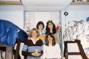 Dorm room, c.1984