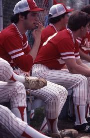 Baseball players, c.1984