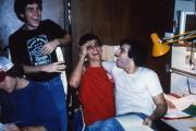 Students take a study break, c.1984