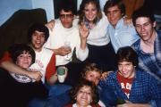 Circle of friends, c.1984