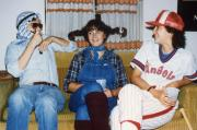 Costume party, c.1984