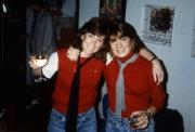 Students share a drink, c.1985