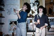 Two students sing, c.1986