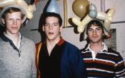 Students wear balloon hats, c.1987