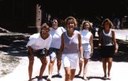 Students take a stroll, c.1987
