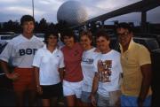Students visit Epcot, c.1987