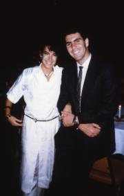 Couple poses, c.1987