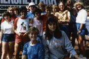 Students at Hershey Park, c.1987