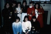 Delta Nu sisters, c.1989