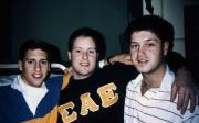 Three students, c.1989