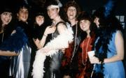 Girls dressed as flappers, c.1990