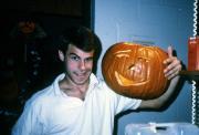 Face of a jack-o-lantern, c.1990