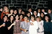 A large group of women smile, c.1990
