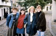 Friends take a picture, c.1990