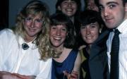 Friends smile together, c.1990