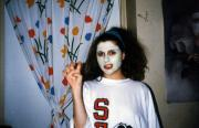 A student in a mask, c.1990