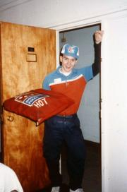 Domino's delivery guy, c.1991