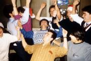 Students sing and dance, c.1991