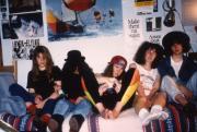 Five friends in a dorm, c.1992
