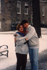 Couple in winter, c.1992