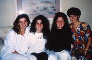 Four friends on a couch, c.1992