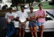 Four friends, c.1993