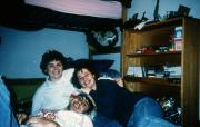 Dorm room, c.1993