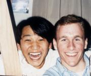 Two students, c.1993