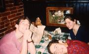 Friends out to eat, c.1994
