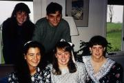 Five students, c.1994