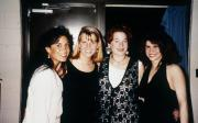 Four girls at a formal, c.1994