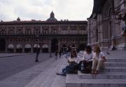 Students at the Basilica of San Petronio, 1994