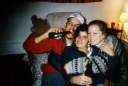 Three students laugh, c.1995