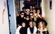 Students ready for Halloween, c.1995