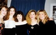 Five women in formal attire, c.1995