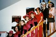 Students before an event, c.1995