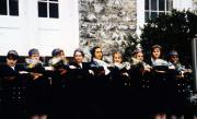 Blue Hats tapping ceremony, c.1995