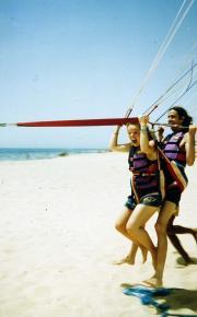 Students parasail, c.1995