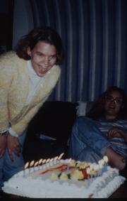 Birthday cake, c.1996