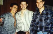 Three students smile, c.1996