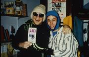 Two students ready to ski, c.1996
