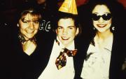 Three students, c.1996