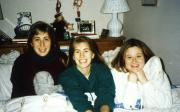 Three students relax, c.1996