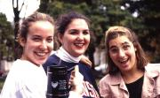 Students show off their stein, c.1996