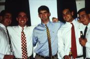 Five students, c.1996
