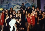 Students attend a formal event, c.1996