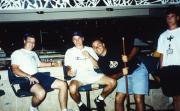Students play pool, c.1996
