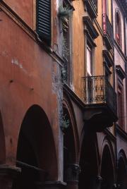 Balcony in Bologna, 1996