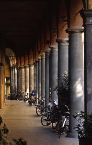Bicycles in Bologna, 1996