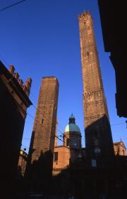 Asinelli and Garisenda Towers, 1996